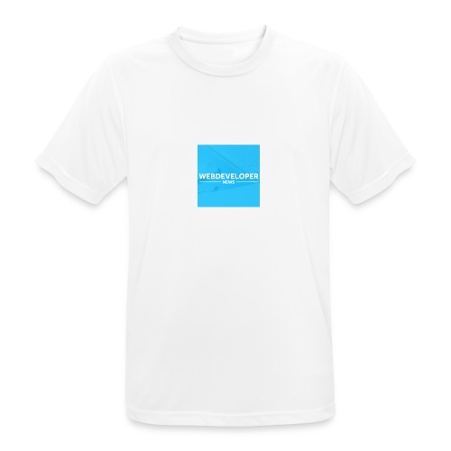 Web developer News - Männer T-Shirt atmungsaktiv