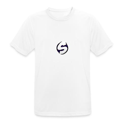 SilkyFX logo - Mannen T-shirt ademend