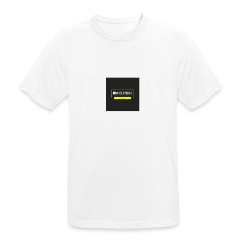 Don kläder - Andningsaktiv T-shirt herr