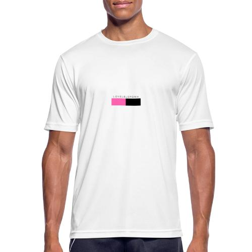 lovelelepona merch - Mannen T-shirt ademend actief