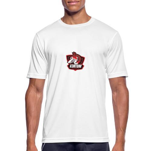 CLAN LOGO V3NTOM - Männer T-Shirt atmungsaktiv