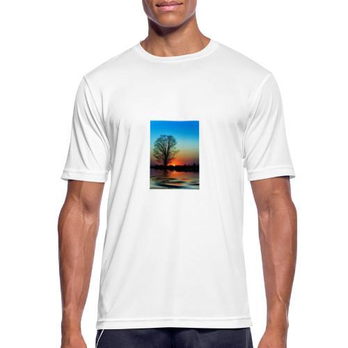 Evening - Andningsaktiv T-shirt herr