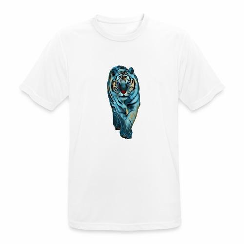Tigre Caminando MEDIANO - Camiseta hombre transpirable