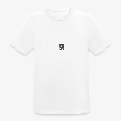 9 Clothing T SHIRT Logo - Men's Breathable T-Shirt