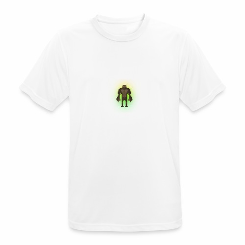 1980's Bigfoot Glow Design - Men's Breathable T-Shirt