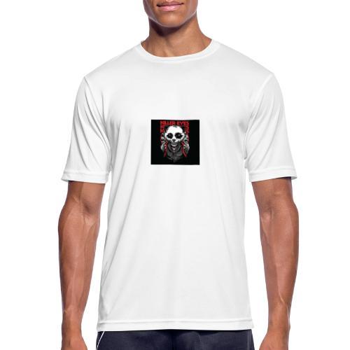 Unity Panda clothes - Pustende T-skjorte for menn
