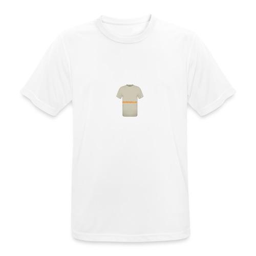 CAMISETA NATURAL-BARRABAJA - Camiseta hombre transpirable
