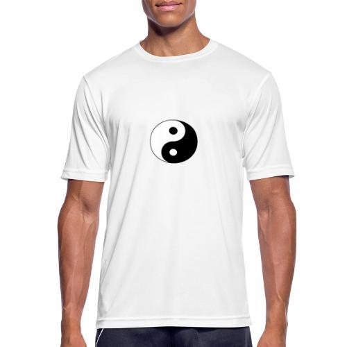 Yin Yang balance in life - Men's Breathable T-Shirt