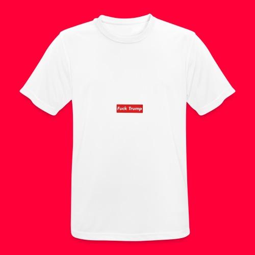 fuck trump - T-shirt respirant Homme