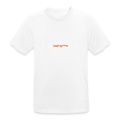 Borra M *** una T-shirt - Maglietta da uomo traspirante