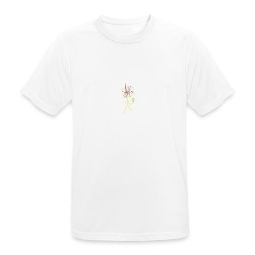 Logo AMT - Maglietta da uomo traspirante
