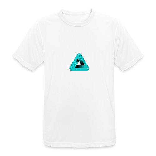 Impossible Triangle - Men's Breathable T-Shirt