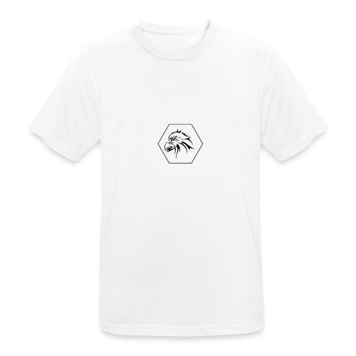 RPP Zwart - Mannen T-shirt ademend actief