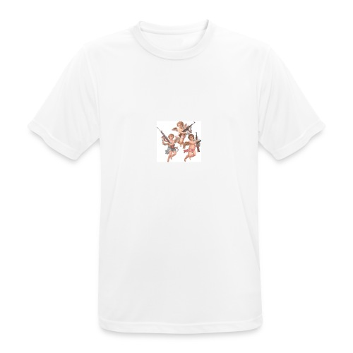 𝔄𝔫𝔤𝔢𝔩𝔢𝔰 - Camiseta hombre transpirable