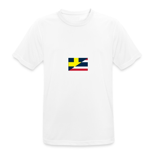 thailands flagga dddd png - Men's Breathable T-Shirt