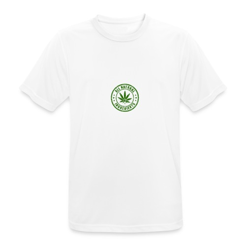 Weed - Mannen T-shirt ademend actief
