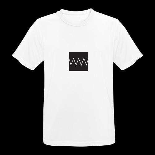 doubledoubleu white - Maglietta da uomo traspirante