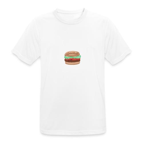 GEEKD BURGER SERIES - Männer T-Shirt atmungsaktiv