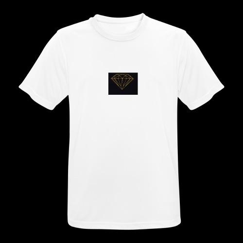 Diamond - T-shirt respirant Homme