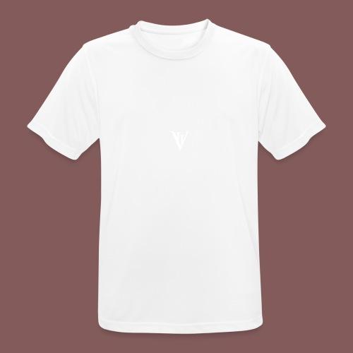 VII blanc - T-shirt respirant Homme