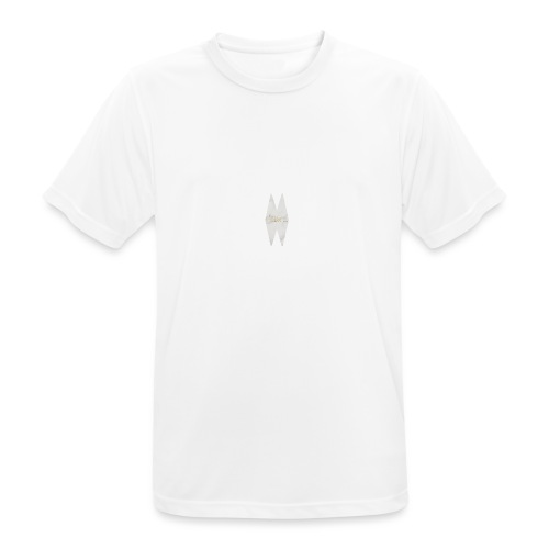 MELWILL white - Men's Breathable T-Shirt