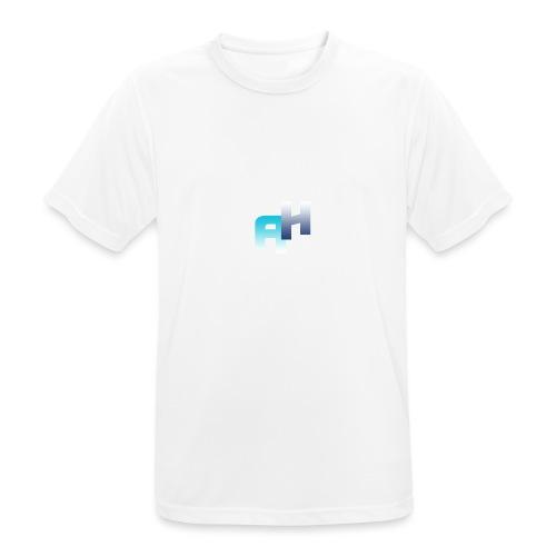 Logo-1 - Maglietta da uomo traspirante