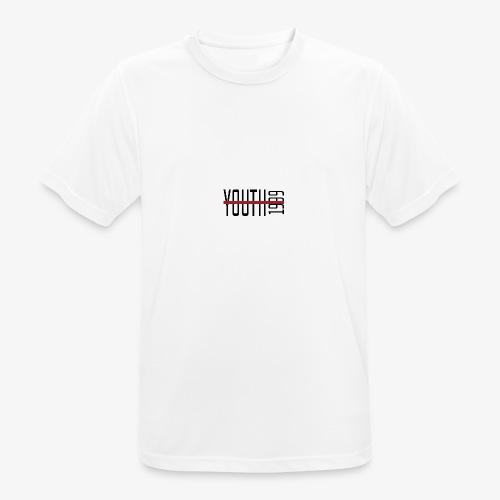 YOUTH1999 - Grey T-Shirt - Sutpecni - Maglietta da uomo traspirante