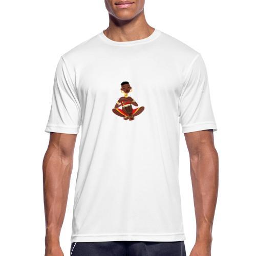 afrikan tee - Herre T-shirt svedtransporterende