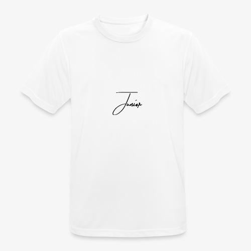 JUNIOR CLASSIC BLACK - Männer T-Shirt atmungsaktiv