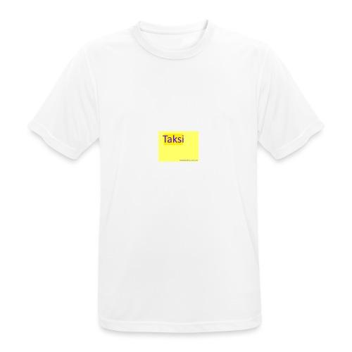 taksifoorumi - miesten tekninen t-paita