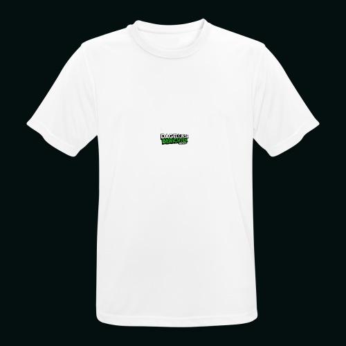 Dagelijkse Berichten Tshirt Logo v1 - Mannen T-shirt ademend actief