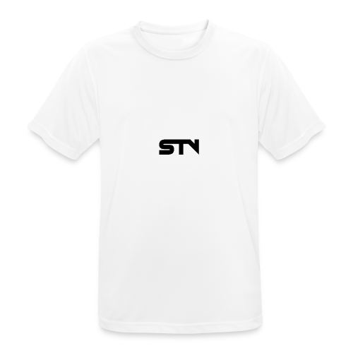 STV Logo Black - Men's Breathable T-Shirt