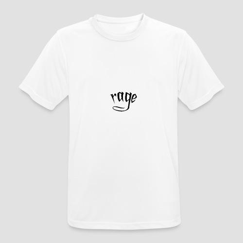 RAGE - Maglietta da uomo traspirante