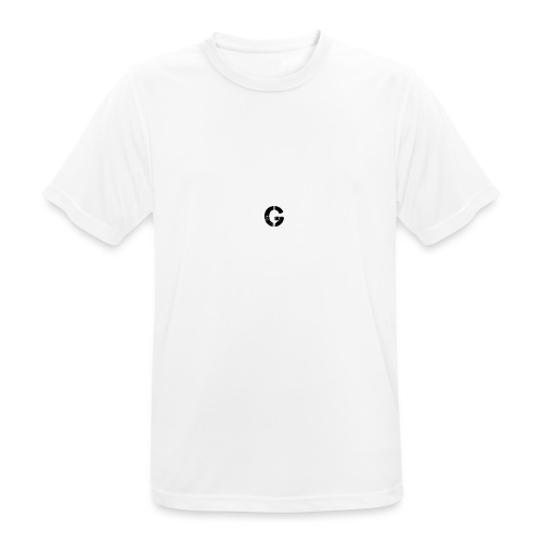 Logo GX SPORTNER blanc - T-shirt respirant Homme