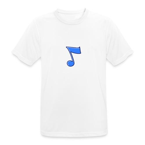 mbtwms_Musical_note - Mannen T-shirt ademend actief