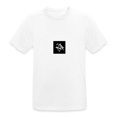 mitt_m--rke_vitt - Andningsaktiv T-shirt herr