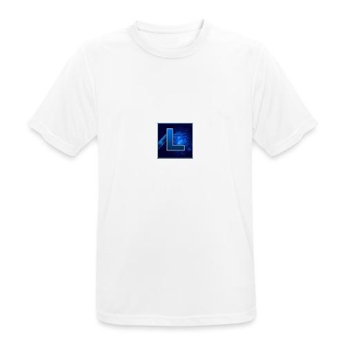 Logo GamenMetLucas - Mannen T-shirt ademend actief