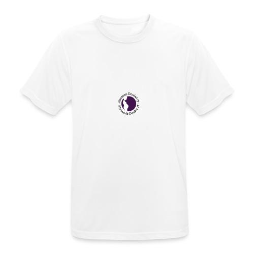 Suomen Doulat ry logo - miesten tekninen t-paita