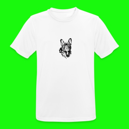 Small_Dog-_-_Bryst_- - Herre T-shirt svedtransporterende