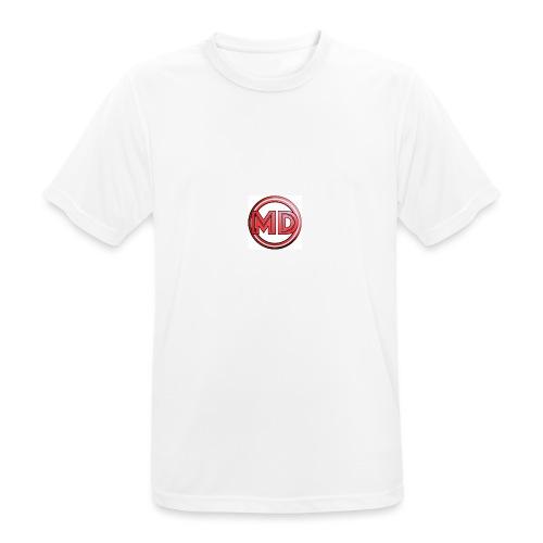 MDvidsTV logo - Mannen T-shirt ademend