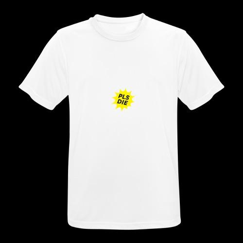 PLSDIE Hatewear - Männer T-Shirt atmungsaktiv