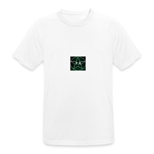 logo P.R - T-shirt respirant Homme