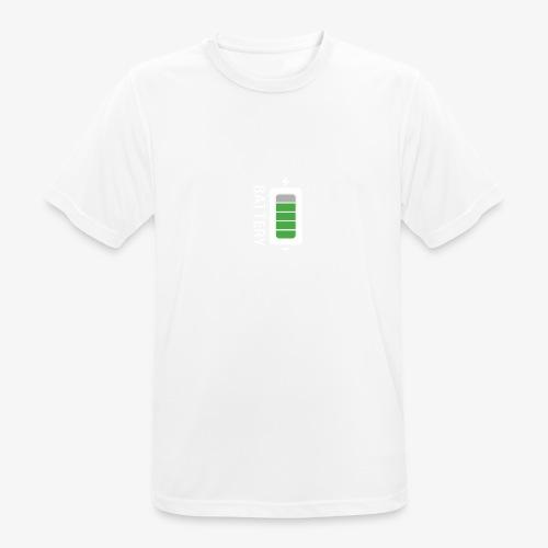 Battery - Maglietta da uomo traspirante