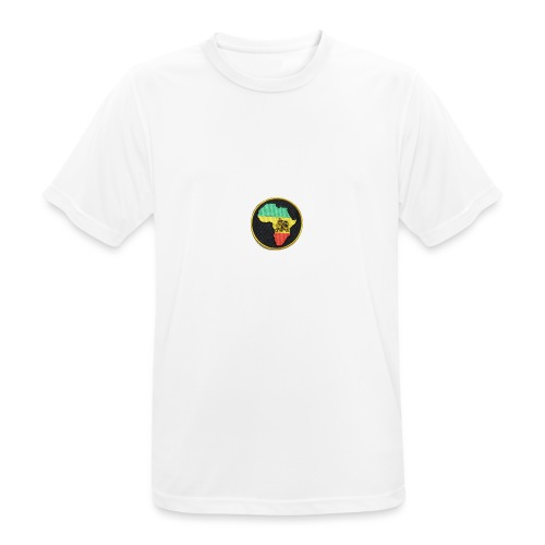 Rasta Lion - Andningsaktiv T-shirt herr