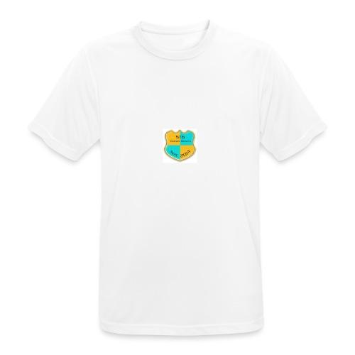 STG Vienna Kickers Logo - Männer T-Shirt atmungsaktiv