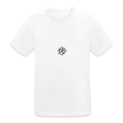 KOMPAS OFFICIAL - Mannen T-shirt ademend actief
