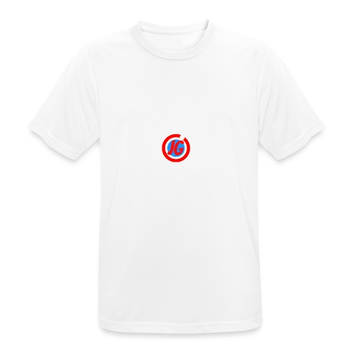 TEAM JG Logo top - Men's Breathable T-Shirt