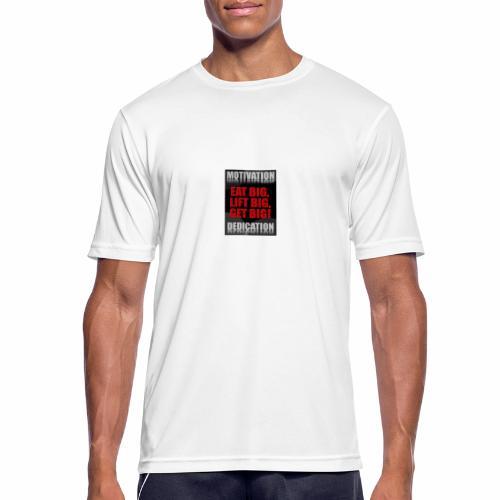 Motivation gym - Andningsaktiv T-shirt herr