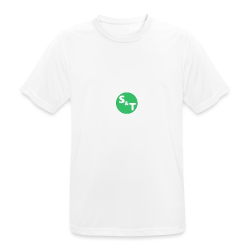 ST Main Logo - Men's Breathable T-Shirt