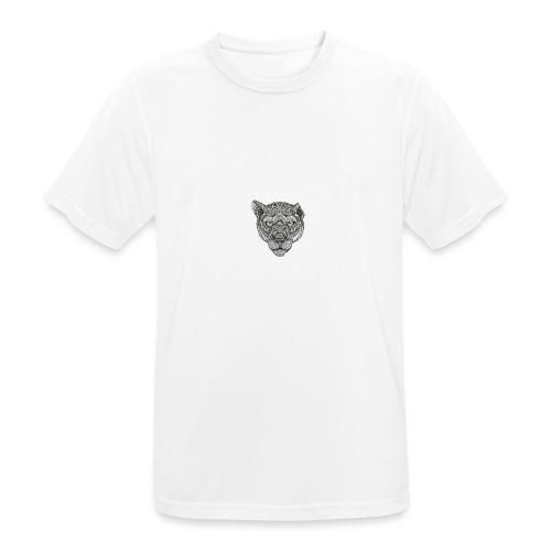 Lion - Mannen T-shirt ademend